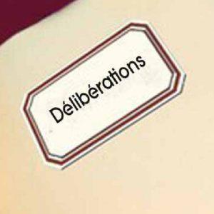 Ordre du Jour et délibérations