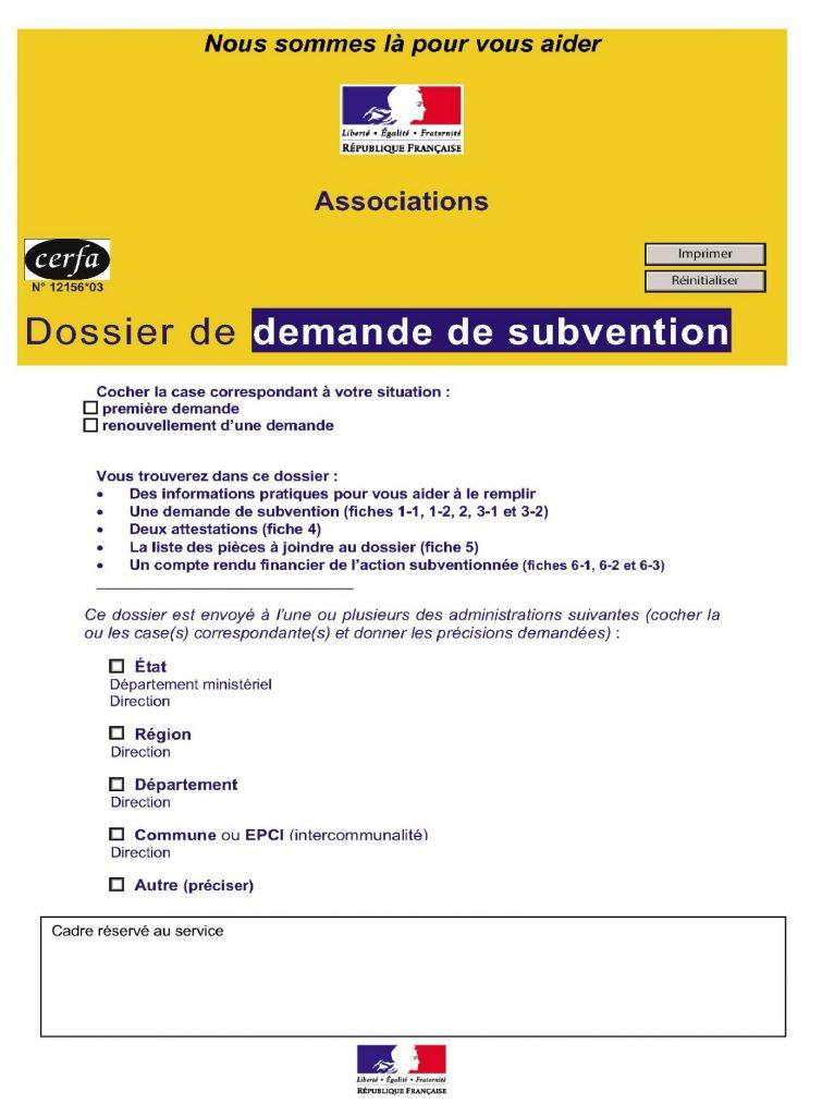 Dossier de demande de subvention de la ville de honfleur