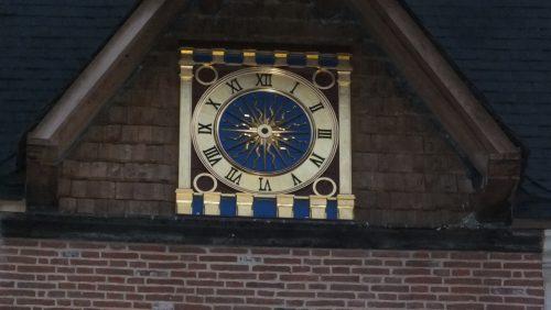 horloge de la lieutenance de honfleur