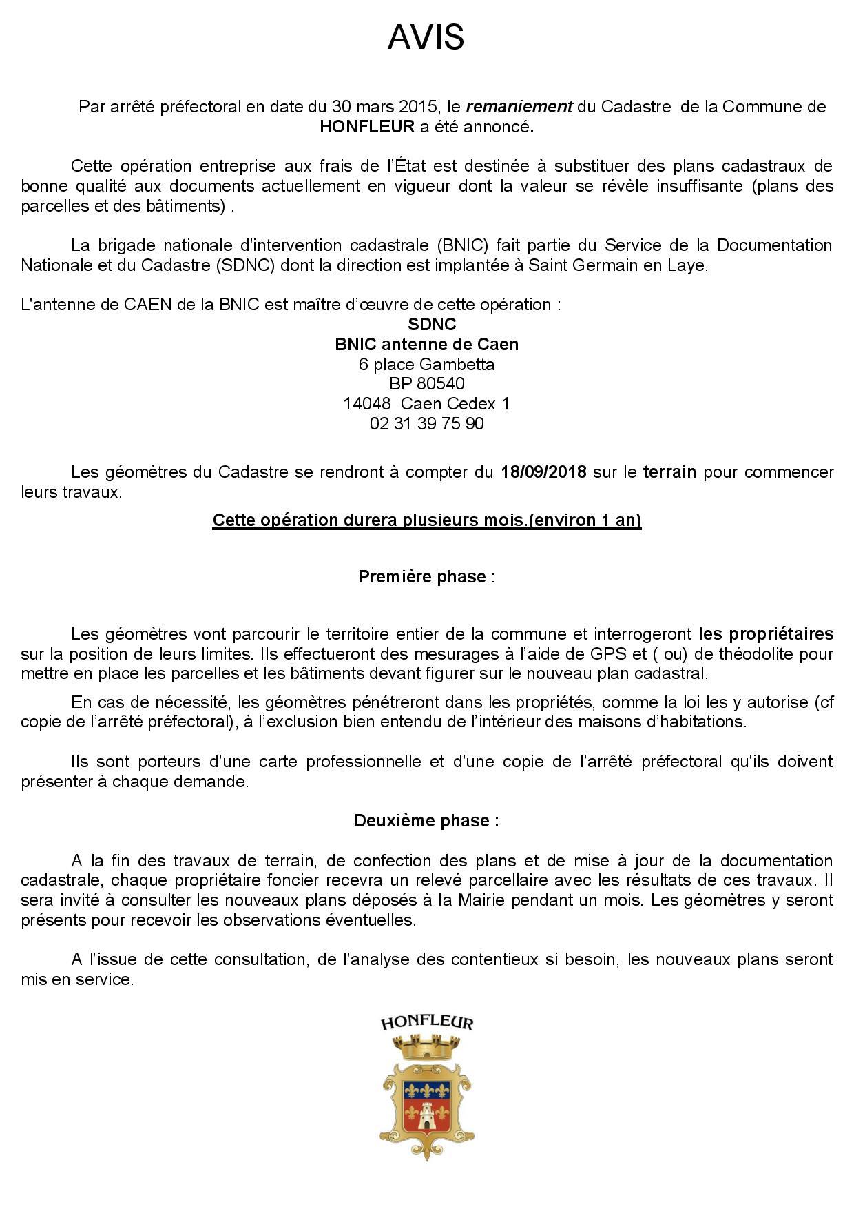 Service Urbanisme Et Cadastre De La Ville De Honfleur